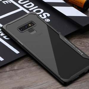 IPAKY Anti-drop PC + TPU Hybrid Phone Casing for Samsung Galaxy Note9 N960 - Black