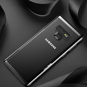 BENKS Tempered Glass + Drop-proof TPU Hybrid Back Case for Samsung Galaxy Note9 N960 - Black