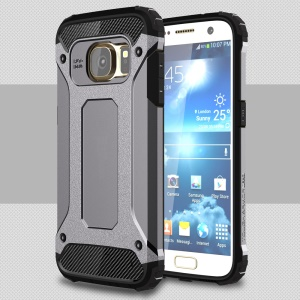 Cool Armor PC + TPU Protector Case for Samsung Galaxy S7 G930 - Grey