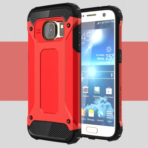 Cool Armor PC + TPU 2-in-1 Cover for Samsung Galaxy S7 G930 - Red