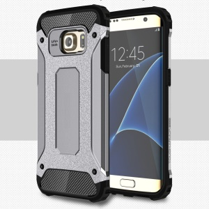 Cool Armor PC + TPU Combo Cover for Samsung Galaxy S7 edge G935 - Grey