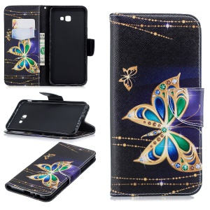 Rhinestone Decorated Butterfly