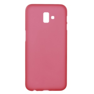 Double-sided Matte TPU Case for Samsung Galaxy J6+ - Red
