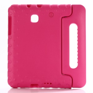 Drop-proof Kids Safe EVA Foam Case with Kickstand for Samsung Galaxy Tab A 8.0 (2018) T387 - Rose