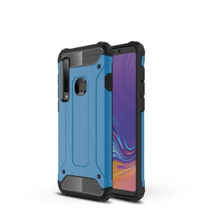 Armor Guard Plastic + TPU Combo Case for Samsung Galaxy A9 (2018) / A9 Star Pro / A9s - Baby Blue