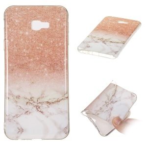 [Marble Pattern] IMD TPU Mobile Phone Case for Samsung Galaxy J4 Plus / J4 Prime / J415 - Style H