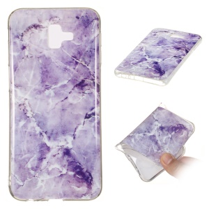 [Marble Pattern] IMD TPU Phone Accessory Case for Samsung Galaxy J4 Plus / J4 Prime / J415 - Style R