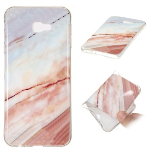 Marble Pattern IMD Soft TPU Case for Samsung Galaxy J4+ - Style K