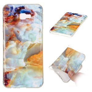 Marble Pattern IMD TPU Cover Case Shell for Samsung Galaxy J4+ - Style N