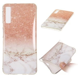For Samsung Galaxy A7 (2018) A750 Mobile Case [Marble Pattern] IMD TPU Case - Style I