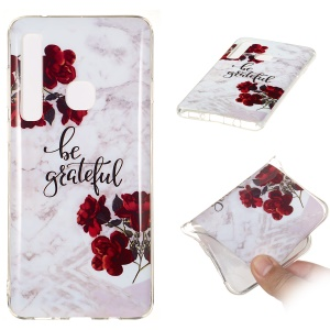 [Marble Pattern] IMD TPU Gel Case for Samsung Galaxy A9 (2018)/A9 Star Pro/A9s - Style E