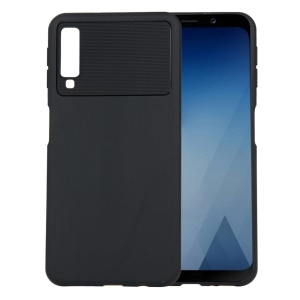 Armour Series Flexible TPU Protection Case for Samsung Galaxy A7 (2018) A750 - Black