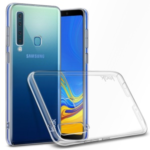 IMAK Crystal Case II Pro PC Hard Cover + Screen Protector Film for Samsung Galaxy A9 (2018) / A9 Star Pro / A9s - Transparent