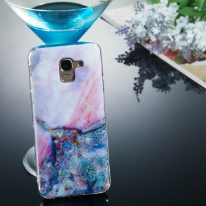 Pattern Printing IMD TPU Mobile Casing for Samsung Galaxy J6 (2018) - Style H