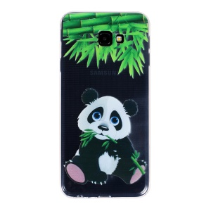 Pattern Printing IMD TPU Phone Cover Case for Samsung Galaxy J4+ - Panda Pattern