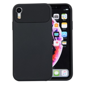 Armour Series Flexible TPU Back Mobile Phone Case for iPhone XR 6.1 inch - Black