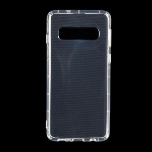 Crystal Clear Drop-resistant TPU Cover for Samsung Galaxy S10