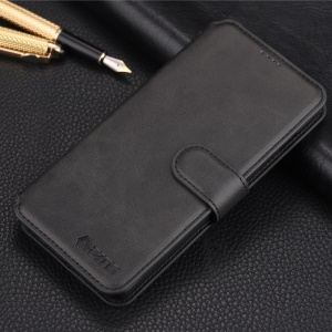 AZNS Wallet Leather Stand Case for Samsung Galaxy S10 - Black