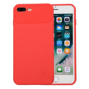 Armour Series Soft TPU Back Case for iPhone 8 Plus / 7 Plus - Red