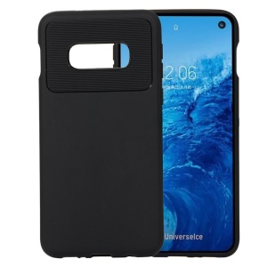Armour Series Flexible TPU Back Protective Case Heat Dissipation Inner for Samsung Galaxy S10e - Black