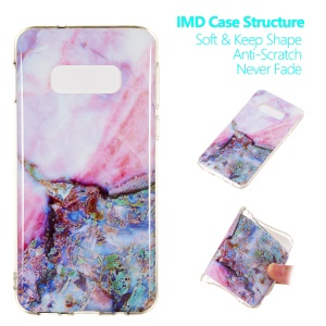 Marble Pattern IMD TPU Soft Case for Samsung Galaxy S10e - Style H