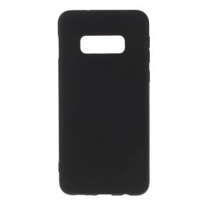 Matte TPU Mobile Phone Case for Samsung Galaxy S10 Lite - Black