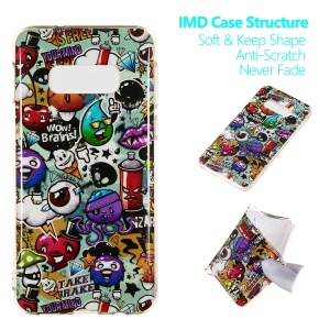 Luminous Glow Pattern Printing TPU Case for Samsung Galaxy S10 Lite - Wow, Brains