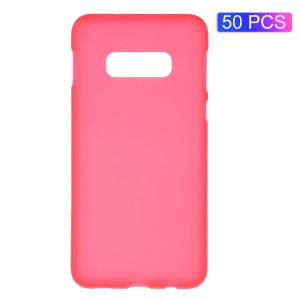50PCS/Set Double-sided Matte TPU Case for Samsung Galaxy S10 Lite - Red