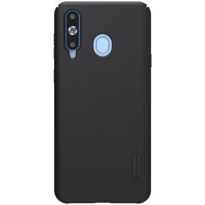 NILLKIN Super Frosted Shield Hard PC Case for Samsung Galaxy A8s - Black
