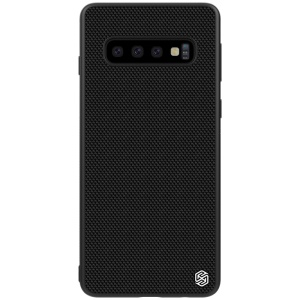 NILLKIN Textured Case for Samsung Galaxy S10 Plus Anti-fingerprint PC TPU Hybrid Phone Cover
