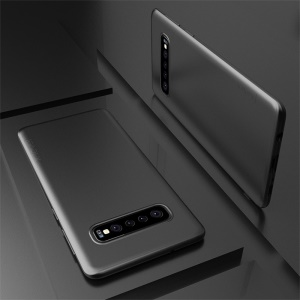 X-LEVEL Ultra-thin Frosted TPU Case for Samsung Galaxy S10 - Black