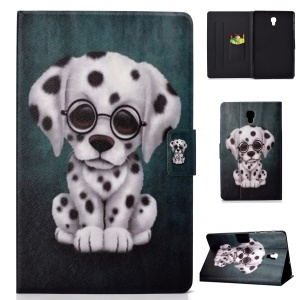 Pattern Printing Stand Leather Case for Samsung Galaxy Tab A 10.5 (2018) T590 T595 - Dog