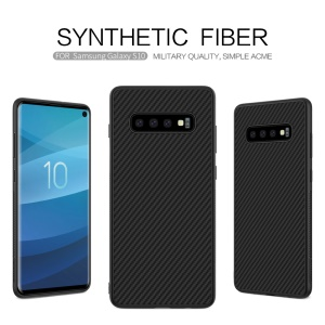 NILLKIN Synthetic Fiber PC TPU Hybrid Phone Shell for Samsung Galaxy S10