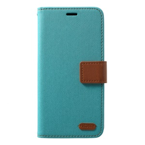 ROAR Twill Leather Wallet Protection Case for Samsung Galaxy S10 - Green