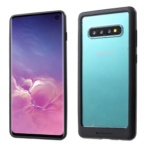 MERCURY GOOSPERY for Samsung Galaxy S10 Detachable Acrylic + TPU + PC Hybrid Case - Black