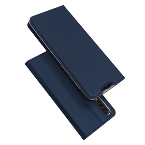 DUX DUCIS Skin Pro Series Leather Flip Case for Samsung Galaxy A50 / A50s / A30s - Dark Blue