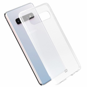 MOMAX Clear Soft TPU Phone Cover Case for Samsung Galaxy S10 Plus - Transparent
