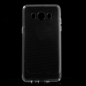 Glossy Soft TPU Case Cover for Samsung Galaxy J5 (2016) - Transparent