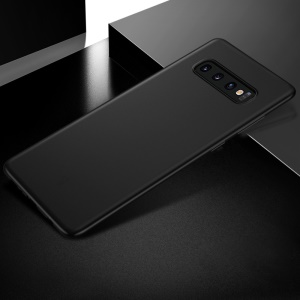 X-LEVEL Ultra-thin 0.4mm Matte PP Mobile Phone Case for Samsung Galaxy S10 Plus - Black