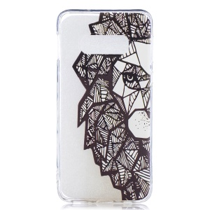 Pattern Printing TPU Mobile Back Case for Samsung Galaxy S10e - Abstract Animal