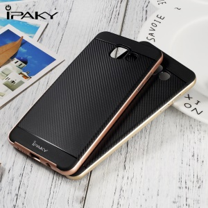IPAKY PC + TPU Hybrid Case for Samsung Galaxy A5 SM-A510F (2016) - Silver