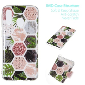 Pattern Printing IMD TPU Protection Back Case for Samsung Galaxy A40 - Style H