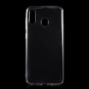 0.5mm Ultra Thin Clear Soft TPU Protection Mobile Phone Shell for Samsung Galaxy A30/A20