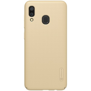 NILLKIN Super Frosted Shield Hard PC Case for Samsung Galaxy A30 - Gold
