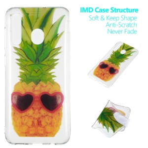 Pattern Printing IMD TPU Case for Samsung Galaxy A30 / A20 - Pineapple