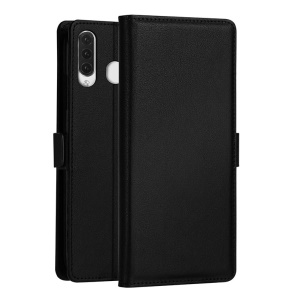 DZGOGO Milo Series Leather Wallet Case for Samsung Galaxy M30/A40s - Black