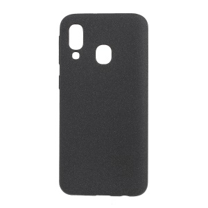 Skin-touch Matte TPU Case for Samsung Galaxy A40 - Black