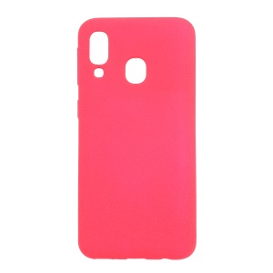 Skin-touch Matte TPU Case for Samsung Galaxy A40 - Rose