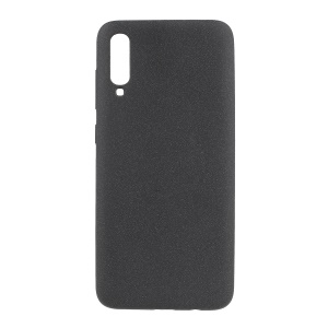 Skin-touch Matte TPU Case for Samsung Galaxy A70 - Black
