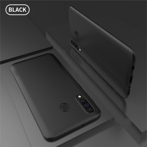X-LEVEL Ultra-thin Frosted TPU Case for Samsung Galaxy M30/A40s - Black